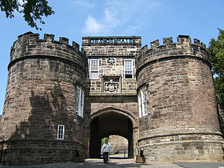 Skipton Castle Grade I listed historic house museum in Craven, United Kingdom