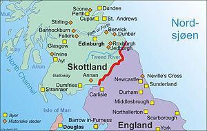 Carte Angleterre Ecosse.Guerres D Independance De L Ecosse Wikipedia