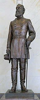 bronze sculpture commemorating the United States Army officer of the same name by C. Adrian Pillars