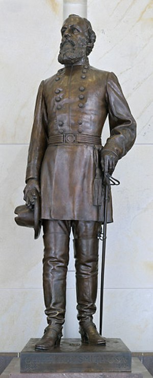 Edmund Kirby Smith (sculpture) - The statue in the National Statuary Hall Collection