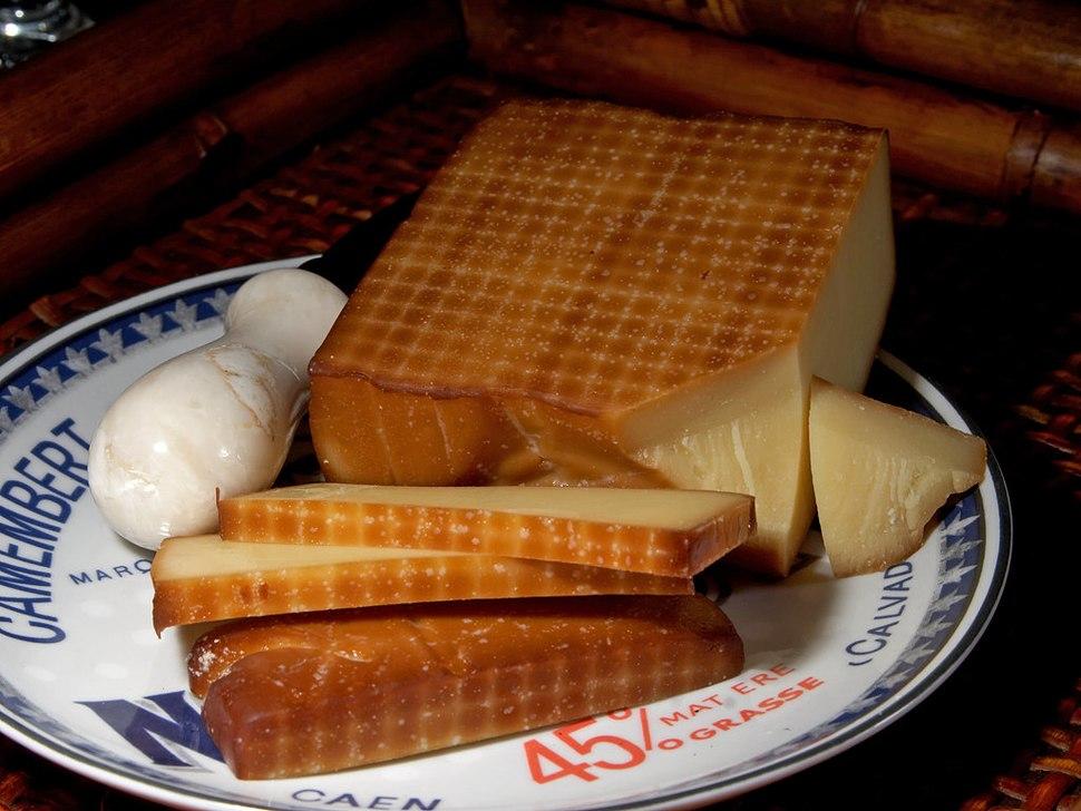 Smoked Gruyère cheese