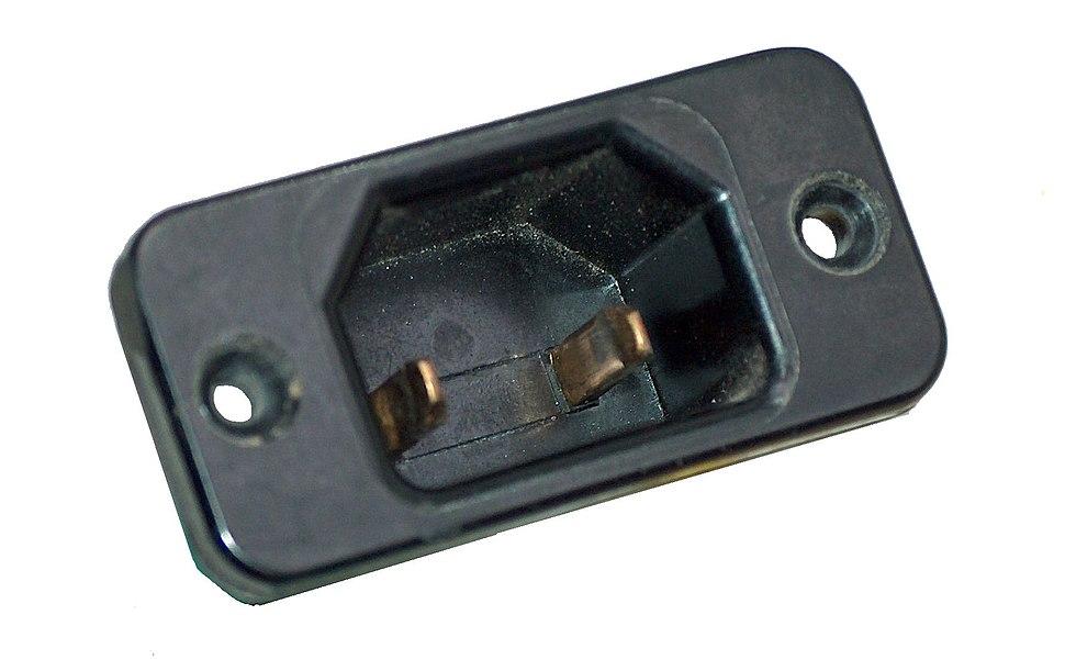 Socket IEC320 Kaltgeräteeinbaustecker DIN VDE 0625 Teil 1 Normblatt C18