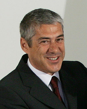Manuel Pinho - José Sócrates Portugal's Prime-Minister in 2005-09 and on whose government Pinho served as Minister of Economy and Innovation.
