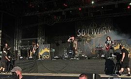 Soilwork live auf dem W:O:A (2013)