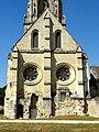 Soissons (02), abbaye Saint-Jean-des-Vignes, réfectoire, pignon sud.jpg