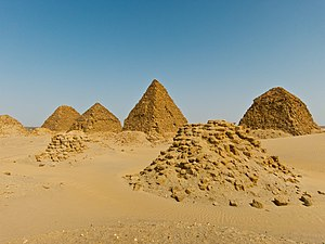 Nuri - Pyramids at the royal cemetery