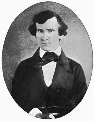 Soto Grimshaw - Photo of Soto Grimshaw in 1865. Source: La historia natural en Argentina.