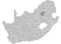 South Africa Districts showing Johannesburg.png