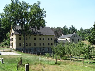 Harvard Shaker Village Historic District - South Family Building
