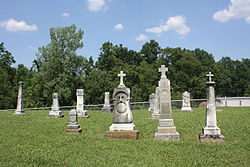 South Fork Cemetery near Moxahala