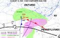 Southern Ontario weather map 2005-08-19 at 12 GMT.png