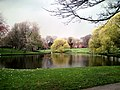 Southern end of lake, Greenbank Park, Liverpool.jpg