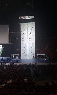 Speed Climbing Wall - World Championships Bercy 2012.jpg
