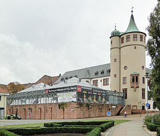 Historical Museum of the Palatinate - Southeastern side of the Historical Museum of the Palatinate with modern annex