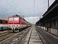 Spišská Nová Ves, nádraží, vlak s lokomotivou 163.116.jpg