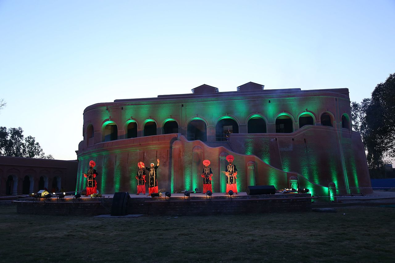 File:Spirit of Punjab, Stage at Gobindgarh Fort, Amritsar