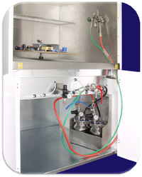 Conformal Coating Spray booth Spray booth designed for application of conformal coatings, lacquers and RFI shielding paints.png