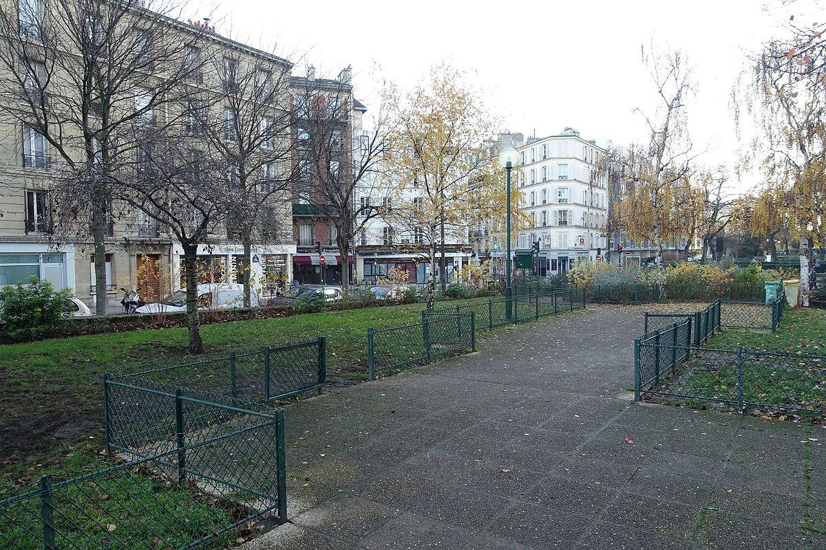 Jardin de la rue paturle wikip dia - Conforama porte de vanves ...
