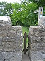 Squeeze stile, south west side of Church Bridge - geograph.org.uk - 1382683.jpg