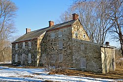 The Squire Cheyney Farm, a historic site in the township