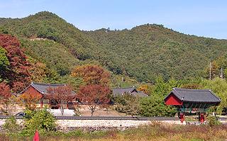 Ssangbongsa Buddhist temple in South Korea