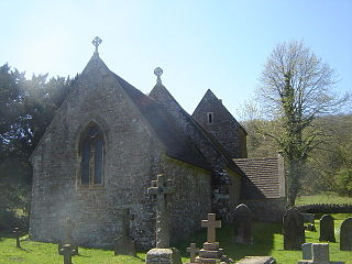 St. Brides Netherwent village in United Kingdom