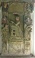 St. Laurentius in Kenzingen, Hürnheimer Kapelle, Epitaph mit Veronika am Betpult. 3.jpg