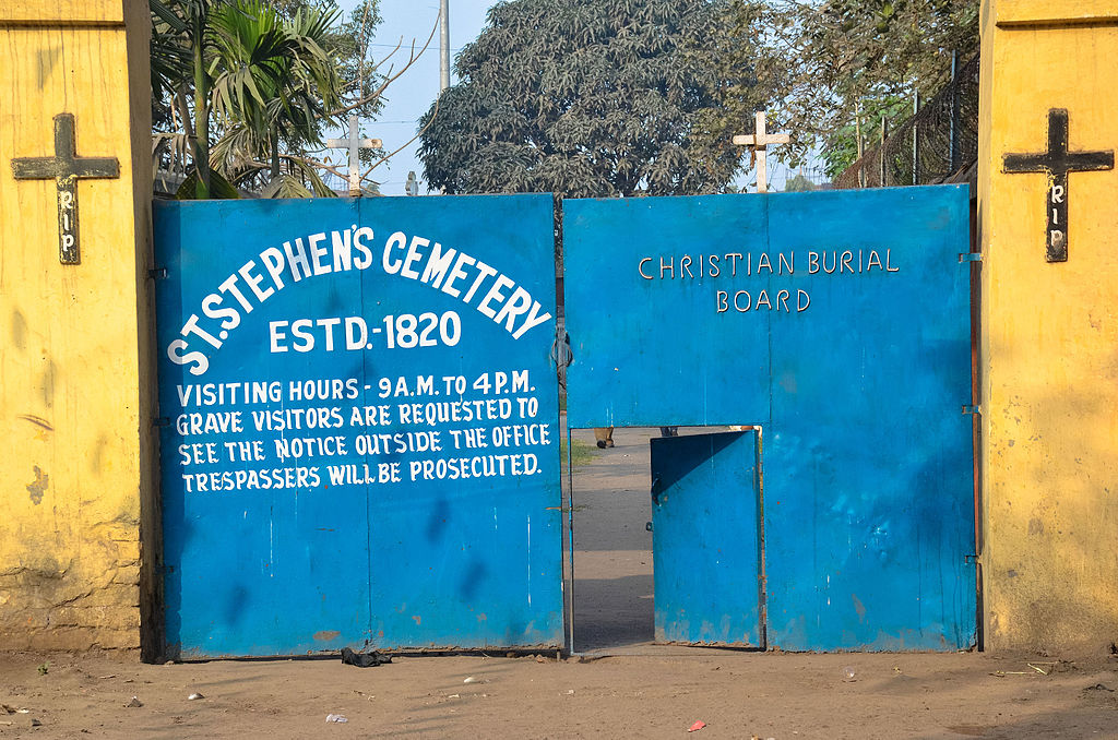 St. Stephen's Cemetery (Photo: Santanu Chandra)