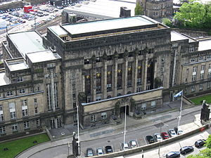 St Andrew's House - The north facade of St Andrew's House, from Nelson's Monument.
