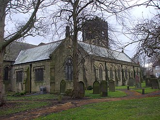 Bedlington - Image: St Cuthbert's Church, Bedlington