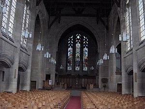 St John's Renfield Church - Interior of St John's Renfield Church