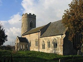 Hellington - Image: St John the Baptist, Hellington geograph.org.uk 90327
