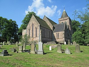 Bucknall, Staffordshire - Image: St Mary's Church, Bucknall 1