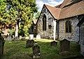 St Mary's Churchyard, Thorpe - geograph.org.uk - 1408885.jpg