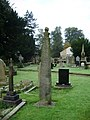 St Mary's and All Saints Church, Whalley, Celtic Cross 3 - geograph.org.uk - 578633.jpg