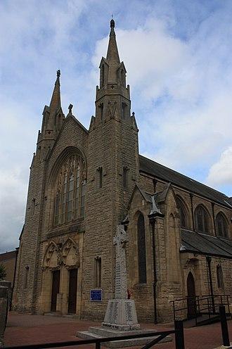 Bathgate - St Marys RC Church, Bathgate by Charles Menart