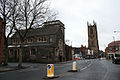 St Michael's Church and the Cathedral, Derby.jpg
