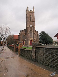 St Nicholas, Tooting Graveney Church in Greater London, England