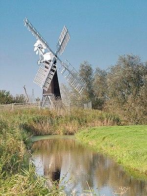 St Olaves - Image: St Olaves wind pump geograph.org.uk 242656