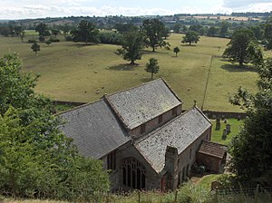 Kirkoswald, Cumbria - St Oswald's Church, Kirkoswald, looking south west