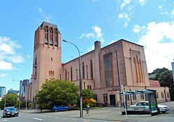 St Paul's Anglican Cathedral rear Wellington 2015.JPG