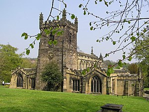 Birstall, West Yorkshire - St. Peter's Church, Birstall