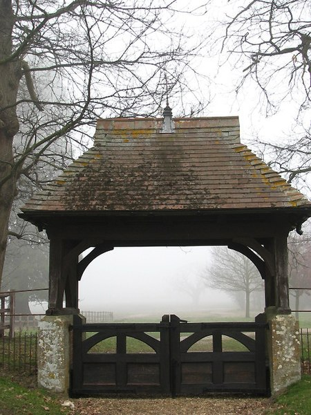 File:St Peter's church - view through lych gate - geograph.org.uk - 696780.jpg