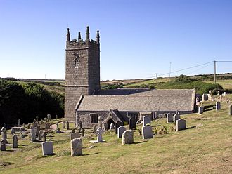 Porthcurno - St Levan's Church, St Levan