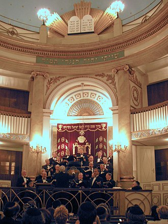 Hazzan - Cantor-concert in the Vienna Stadttempel synagogue