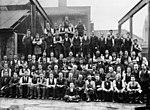 Staff at R. & H. Green and Silley Weir Ltds Blackwall establishment (6105964440).jpg