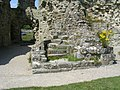 Stairway in gatehouse at Pevensey Castle - geograph.org.uk - 1411334.jpg
