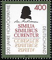 Stamp Germany 1996 Briefmarke Homöopathie Samuel Hahnemann.jpg