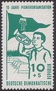 Stamp of Germany (DDR) 1958 MiNr 645