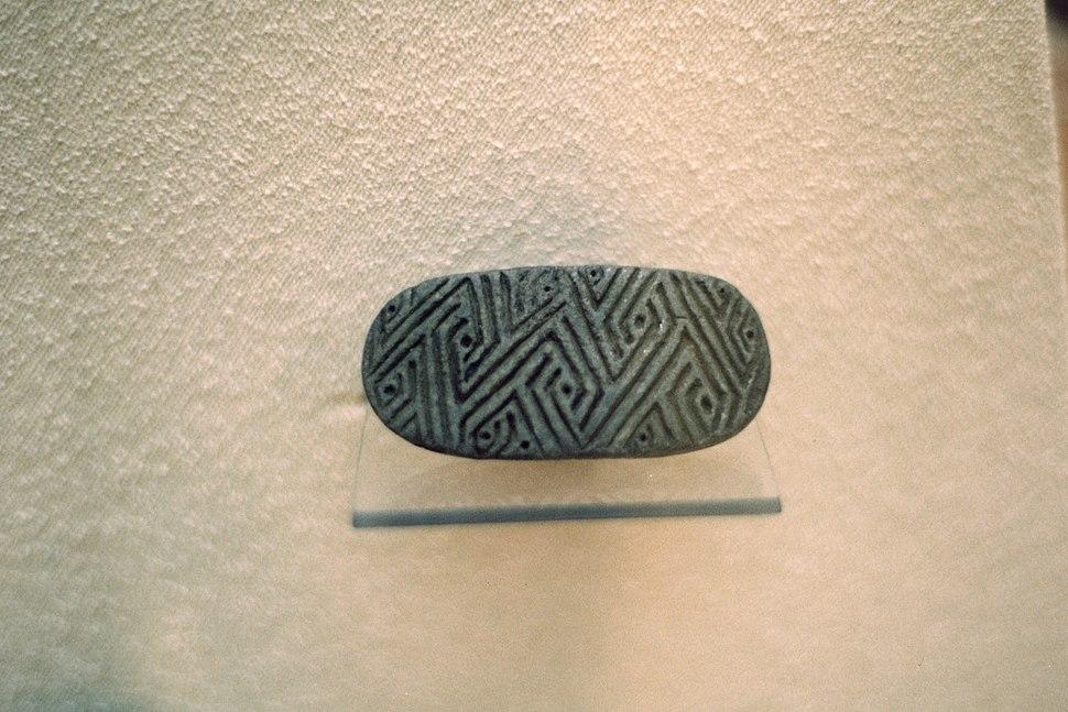 Stamp seal, Çatalhöyük (?) 6000-5500 BC, MACA, 99035